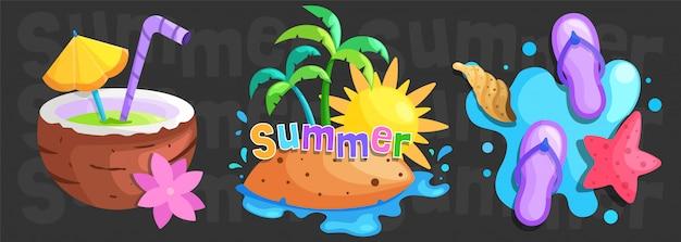 Sommerzeit flach