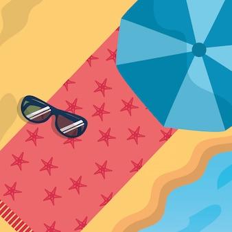 Sommerzeit strand