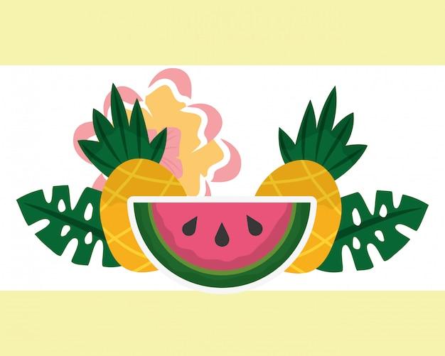 Sommerzeit tropisch