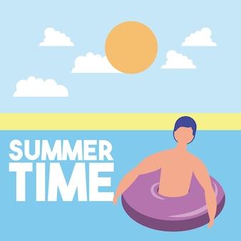 Sommerzeit urlaub
