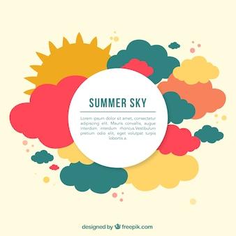 Sommerzeit-vektor
