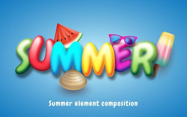 Sommerzeitelemente