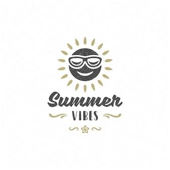 Sommerzitat oder sommerlogo