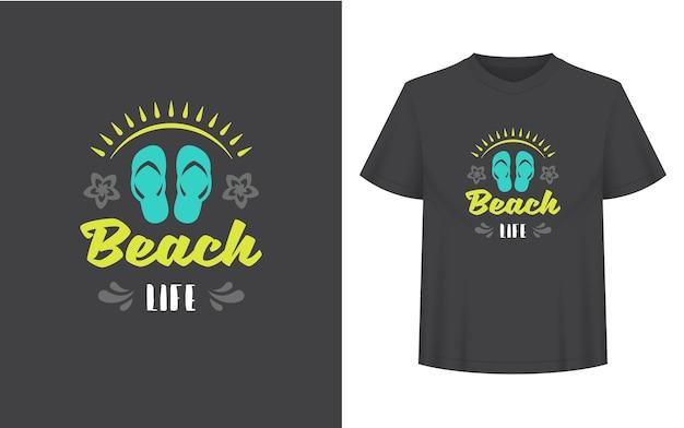 Sommerzitat oder spruch kann für t-shirts, tassen, grußkarten, foto-overlays, dekordrucke und poster verwendet werden. strandlebensnachricht, vektorillustration.