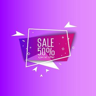 Sonderangebot super sale bright banner