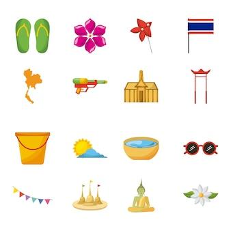 Songkran thailand festival