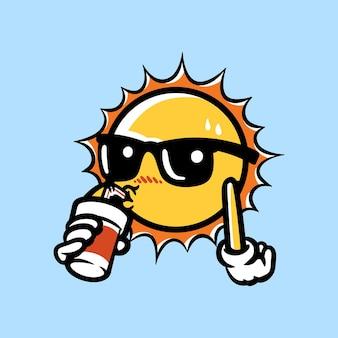 Sonne des sommers
