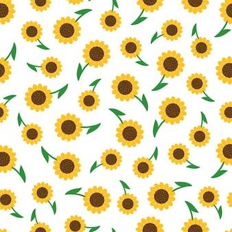 Sonnenblumen muster design