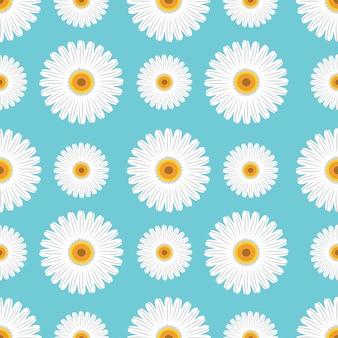 Sonnenblumen vektor nahtlose muster