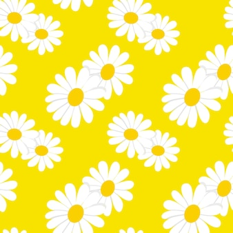 Sonnenblumenvektor nahtlose hintergrundmuster