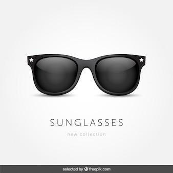 Sonnenbrillen isoliert