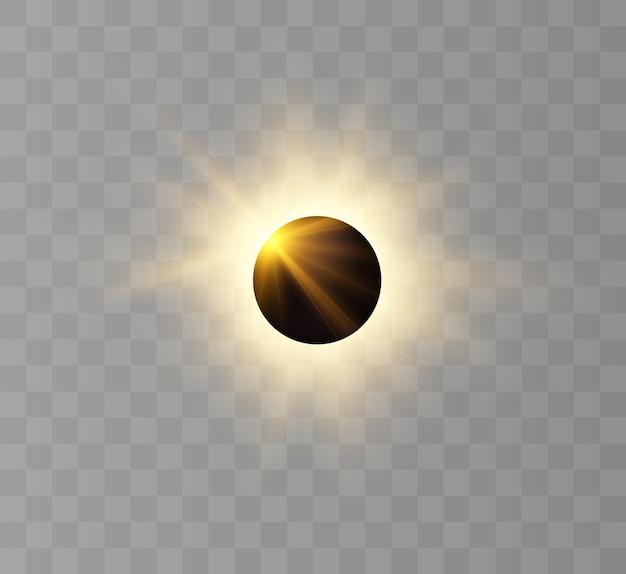 Sonnenfinsternis partielle sonnenfinsternis