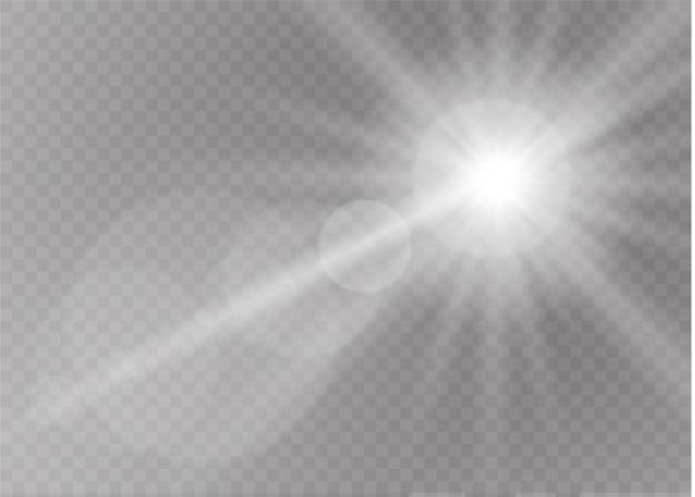 Sonnenlicht ein durchscheinendes spezielles design des lichteffekts