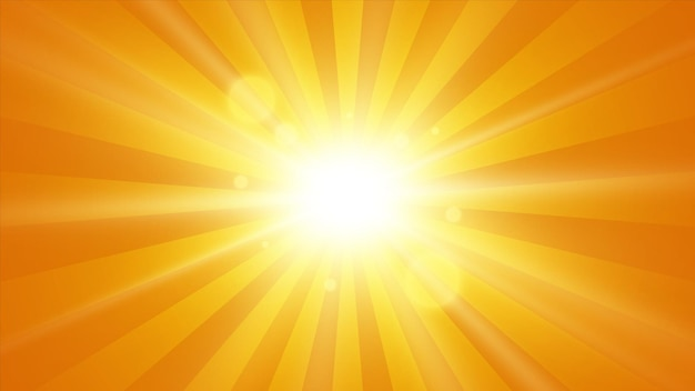 Sonnenstrahlen-hintergrund. sonne mit strahlen. abstrakte vektorexplosion.