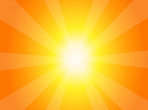 Sonnigen burst konzept hintergrund