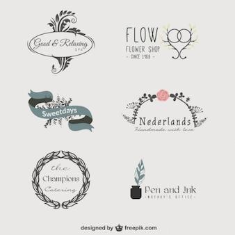 Sortierten logo-vorlagen
