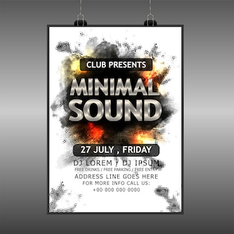 Sound-party-poster