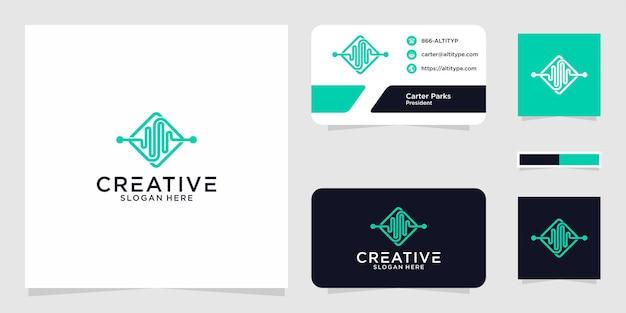 Sound vibe tech logo grafikdesign für andere zwecke ist perfekt