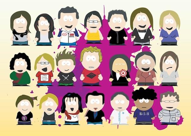 South park-karikaturen