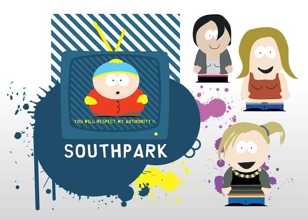 South park-vektoren