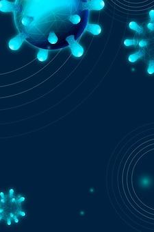 Sozialer vorlagenvektor der coronavirus-pandemie