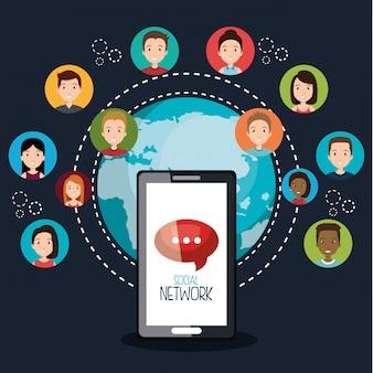 Soziales netzwerk-design