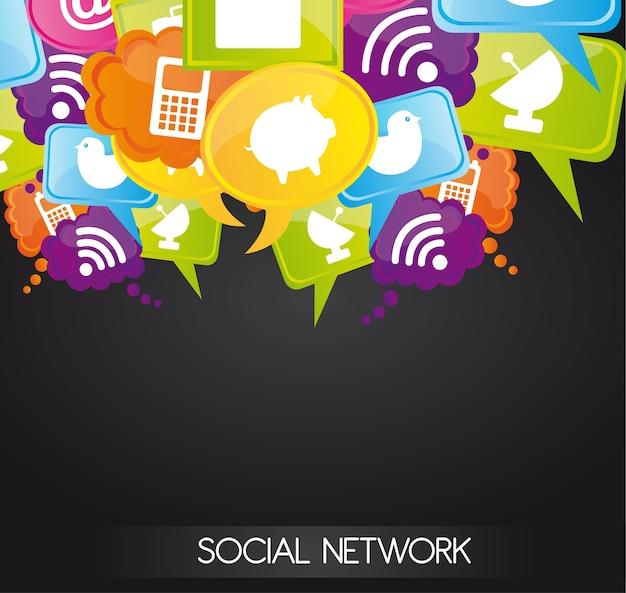 Soziales netzwerkdesign