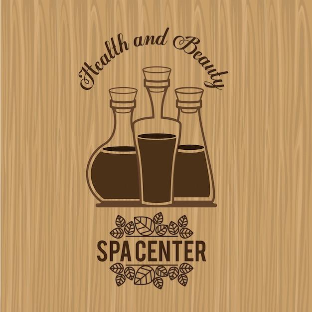 Spa-design, vektor-illustration.