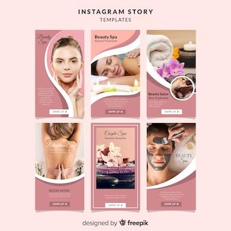 Spa instagram geschichten vorlage