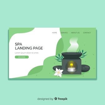 Spa landing page
