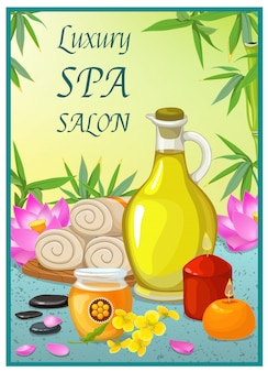 Spa salon poster