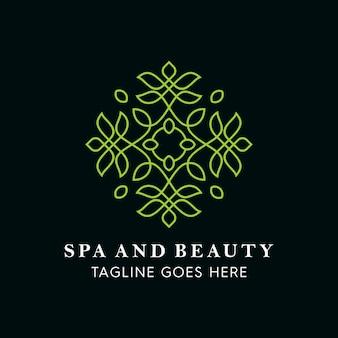 Spa und beauty blätter