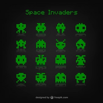 Space invaders spiel