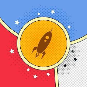Space-shuttle-rakete