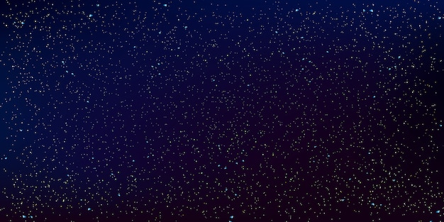 Space stars hintergrund. illustration des nachthimmels.