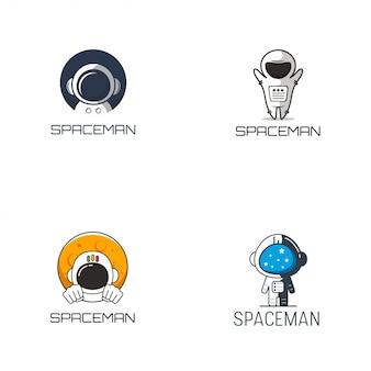 Spaceman logo design