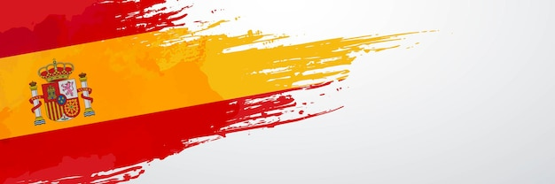 Spanien banner pinsel