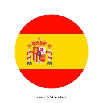 Spanischer markierungsfahnenhintergrund