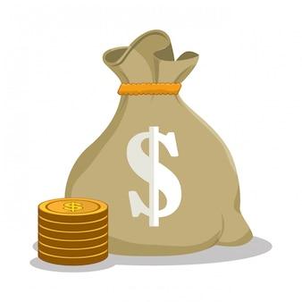 Spar- und geldkonzept