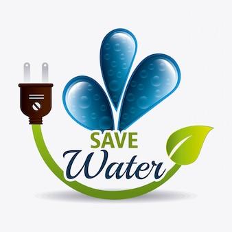 Sparen sie wasserökologie