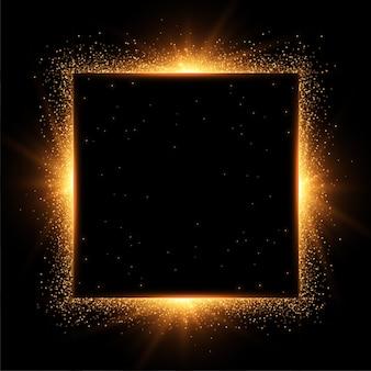 Sparkles-rahmen mit textraum