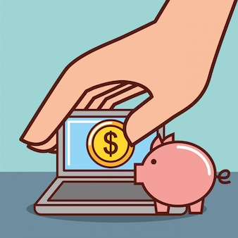 Sparschwein geld