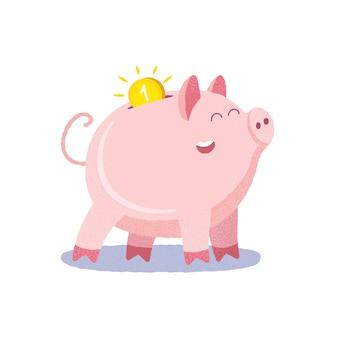 Sparschwein. sparbüchse.