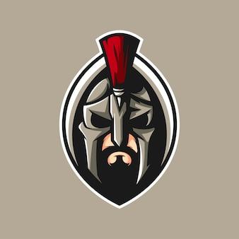 Sparta-maskottchen-design