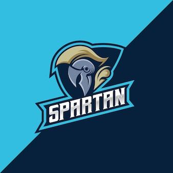 Spartanes esport- und sportlogo