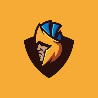 Spartanische logosammlung