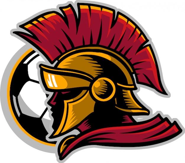 Spartanischer fußball