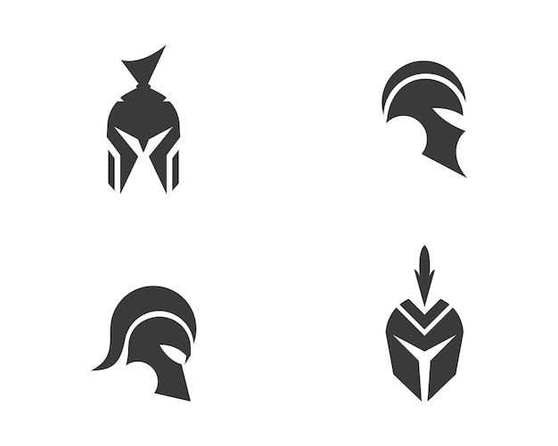 Spartanischer logovektor