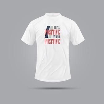 Spaß und lässiges t-shirt design
