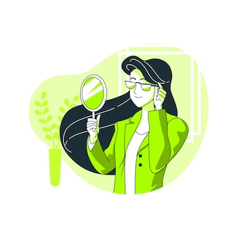Specs konzept illustration